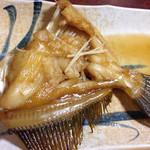 まずい魚 青柳 - カワハギの煮付け。絶品!