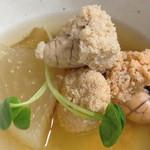 まずい魚 青柳 - タラコ大根