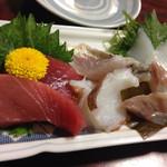 まずい魚 青柳 - 刺し盛り