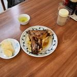 中村屋 - マグロのかまやき、美味です。2016-01-12