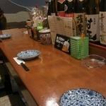 串揚げ 亀ちゃん - カウンター