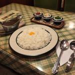 ぶるうべる - ぶるうべる(山口県山口市亀山町)カレー