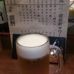 串揚げ 亀ちゃん - ビール