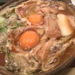 山本屋本店 - 牡蛎・かしわ入り味噌煮込み