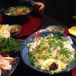 生け簀の甲羅 - まかない丼と炙り海鮮丼