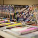 中華そば まるや - 漫画や雑誌好きなお客様が沢山ご来店