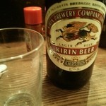 かわ屋 - ビール瓶