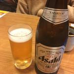 杵屋 横浜ポルタ店 - ビール(^∇^)