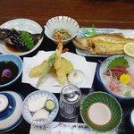 民宿さかや - 2010/7/30夕食