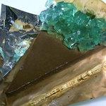 ブルーリボン - 夏の冷たいチョコレートパイ