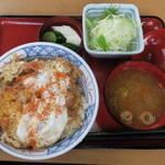 かつ兵衛 - 料理写真:かつ丼ランチ580円