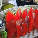 レイクサイドキッチン トントン - 姫ます刺し身定食
