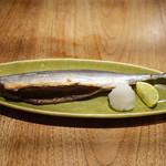 あめこや - 「糠漬け秋刀魚焼き」 2015年11月