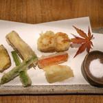 あめこや - 「野菜の天ぷら」 2015年11月