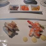 SHIN YEH 101 - 料理写真:前菜盛り合わせ