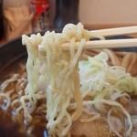 中華そば おのむら - 手もみちぢれ麺