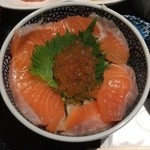 46476651 - サーモンとイクラの親子丼1,000円