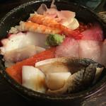 朝日寿司 総本店 - ランチのちらし