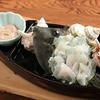 真鶴 栄寿司 - 料理写真:皮ハギの肝和え