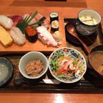 寿司割烹 豊 - 160115 寿司御膳