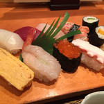 寿司割烹 豊 - 料理写真:160115 寿司御膳