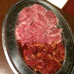 七条ツキトカゲ - 豚肉3種盛り