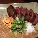 七条ツキトカゲ - 亀岡牛の赤身ステーキ