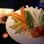 バー ウィステリア - 野菜スティック