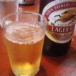 4648787 - 瓶ビールはキリンラガー