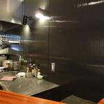 フィオリスカ - ピカピカのオープンキッチン