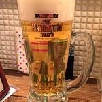 とりやき源氣 町田店 - ビールで乾杯♪(〃゜▽゜)ノ□☆□ヽ(゜▽゜*)♪