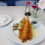 キャッスル食堂 - エビフライ定食