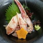 浜松 甲羅本店 - かにのお刺身