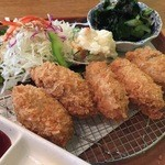 Chiba-Ken Japanese Restaurant - カキフライ