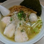 美志満 - 塩味玉らぁ麺¥850