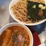 豚斬りらーめん - 辛味噌つけ麺 \780
