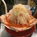 豚斬りらーめん - 辛味噌豚麺