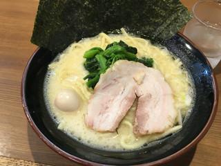 横浜家系ラーメン一刀家 - 【2016.1月追加】塩ラーメン(700円)