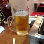大阪焼肉・ホルモン ふたご - ビール