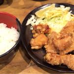 煌楽 - テンカラ定食中750円