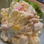 もりもと - もりもと(岡山県岡山市磨屋町)ポテトサラダ