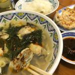 中国ラーメン揚州商人 - 冬牡蠣!