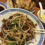 中国ラーメン揚州商人 - 伏兵上海焼きそば刀切麺。