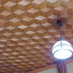 魚信旅館 - 天井