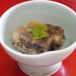 魚信旅館 - オコゼの煮凍り