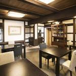 茶寮不室屋 - 蔵を改装した店内