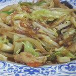 華華 - 野菜炒め ¥550