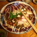 ひゅって森の仲間 - 料理写真:鴨すき