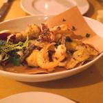 シュリ シュリ - 魚介と野菜のフリット