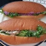 魔女のコッペパン - 「15の野菜」と「怪しいポテトサラダ」